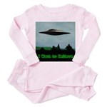 I Want To Believe Toddler Pink Pajamas