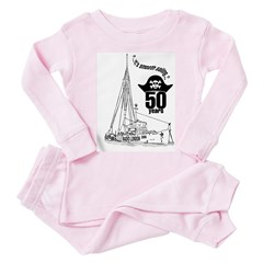 Radio London 50th Anniversary Toddler Pink Pajamas