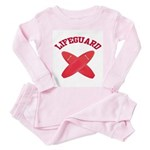 Lifeguard Toddler Pink Pajamas