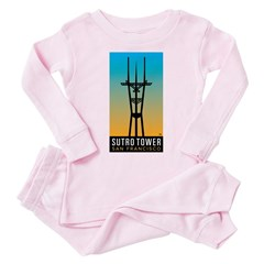 Sutro Tower logo Pink Pajamas