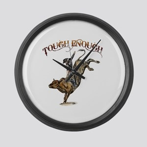 Tough enough Large Wall Clock