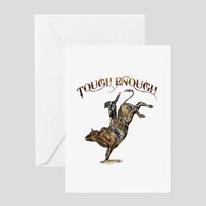 Tough enough Greeting Card