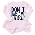 Don't Hassle Me! Toddler Pink Pajamas
