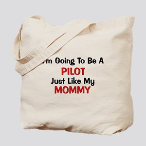 Pilot Mommy Profession Tote Bag