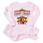 2010 Championship Toddler Pink Pajamas