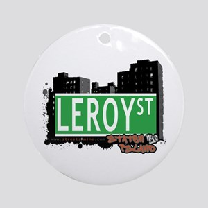LEROY STREET, STATEN ISLAND, NYC Ornament (Round)