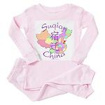 Suqian China Toddler Pink Pajamas