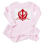 Khanda [Jaguars] Toddler Pink Pajamas