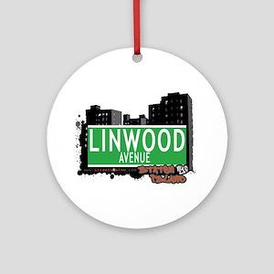 LINWOOD AVENUE, STATEN ISLAND, NYC Ornament (Round