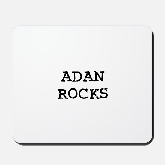 ADAN ROCKS Mousepad