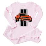 New Camaro Red Toddler Pink Pajamas