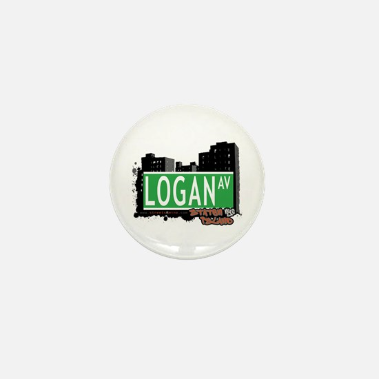 LOGAN AVENUE, STATEN ISLAND, NYC Mini Button