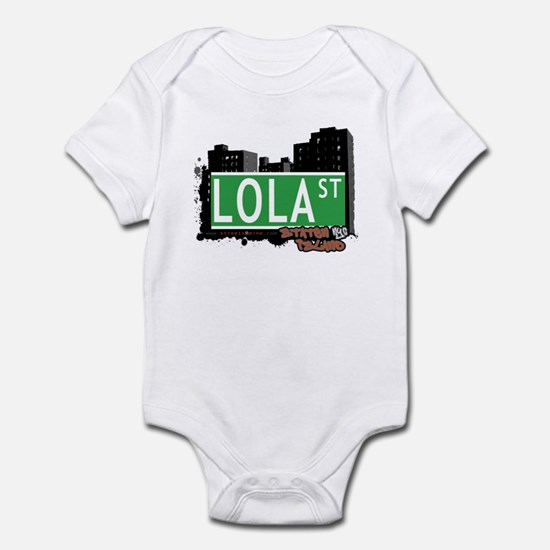 I love lola baby clothes cafepress lola street staten island nyc infant bodysuit negle Images