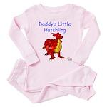 Daddy's Little Hatchling Toddler Pink Pajamas