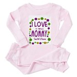Mommy Takes Me To Parades Toddler Pink Pajamas