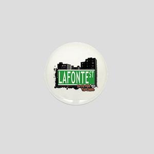 LAFONTE STREET, STATEN ISLAND, NYC Mini Button