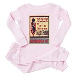 New Orleans Streets Toddler Pink Pajamas