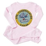 USS CONSTELLATION Toddler Pink Pajamas