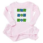Tit For Tot Toddler Pink Pajamas