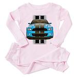 New Mustang Blue Toddler Pink Pajamas