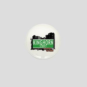 KINGHORN STREET, STATEN ISLAND, NYC Mini Button