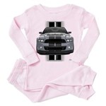 New Mustang GT Gray Toddler Pink Pajamas