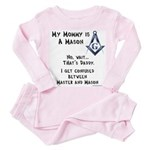 My Mommy is a Mason Toddler Pink Pajamas