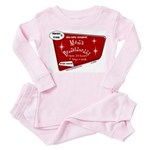 Breastaurant Toddler Pink Pajamas