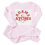 Adams Atoms Toddler Pink Pajamas