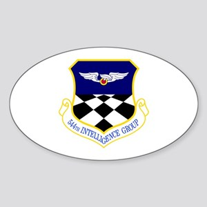 544th Oval Sticker