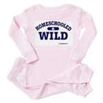 Homeschooled & Wild Toddler Pink Pajamas