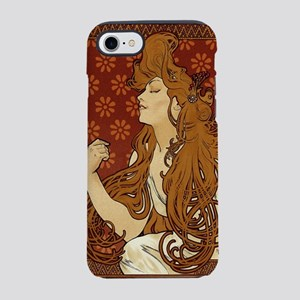 art-nouveau-long-hair-woman-red_sb iPhone 7 To