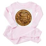 USS McGOWAN Toddler Pink Pajamas