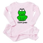Think Green Toddler Pink Pajamas
