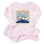 Little Friends Toddler Pink Pajamas