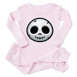 Skull Toddler Pink Pajamas