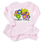 flowerpowersmileysfp Pink Pajamas
