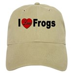 I Love Frogs Cap