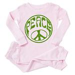 Vintage Toddler Pink Pajamas