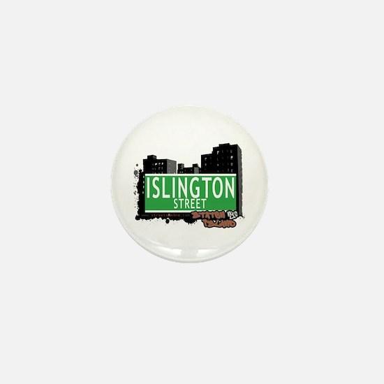 ISLINGTON STREET, STATEN ISLAND, NYC Mini Button