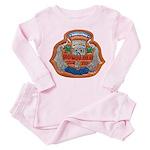 USS HONOLULU Toddler Pink Pajamas