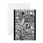Celtic Surreality Greeting Card
