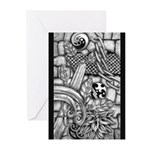 Celtic Surreality Greeting Cards (Pk of 10)