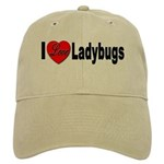 I Love Ladybugs for Insect Lovers Cap