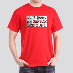 senior discount Dark T-Shirt
