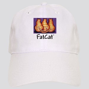 FatCat Orange Cat Cap