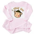 i fling poo Toddler Pink Pajamas