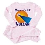 Momma's Lil' Vulcan Toddler Pink Pajamas