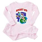 Rocket Kid Toddler Pink Pajamas