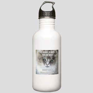 ready to vote bunky 2020 Water Bottle